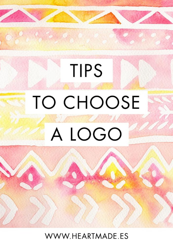 Tips for choosing a logo by Claudia Orengo - graphic designer at Heartmade.es