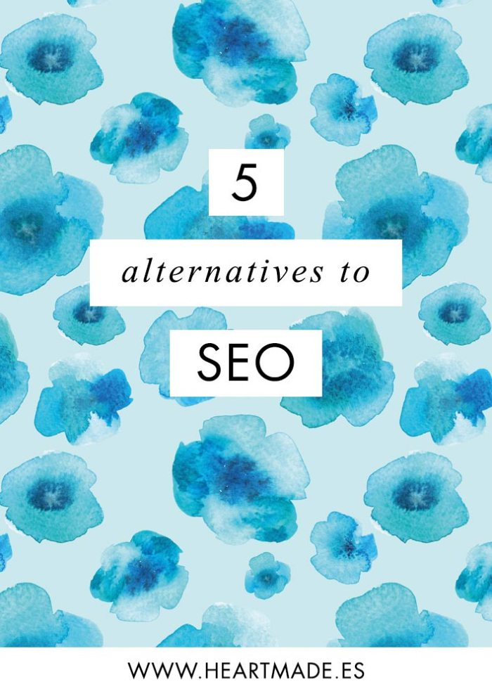 Although SEO is something you need to keep always in mind, there are other ways to get to the same goals, and these are the 5 alternatives to SEO that I want to share today with you: