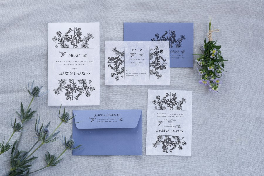 wedding invitations by Lovers Love Loving