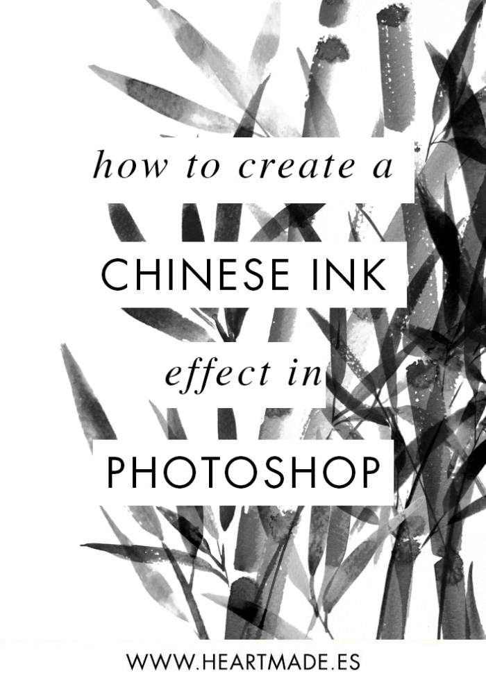 I this tutorial I will show you how easy it is to create a Chinese ink effect in Photoshop using any illustrations you have.