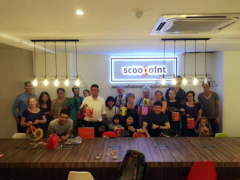 Scoopoint, the new co-working space in George Town, Penang