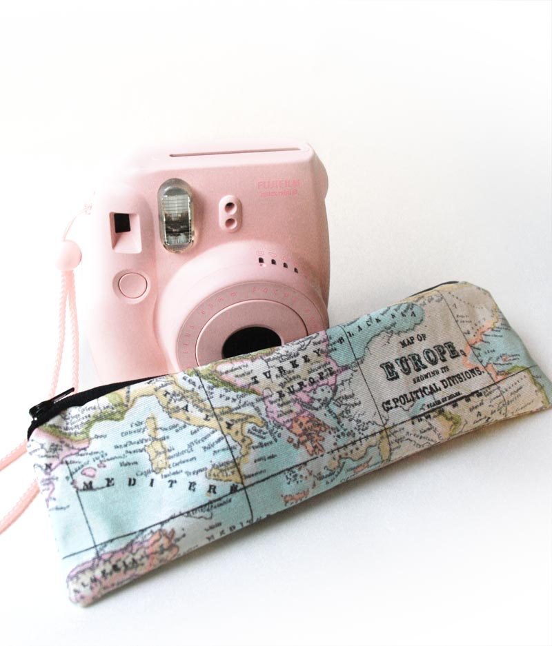 Map pencil case by Heartmade - my best selling product online