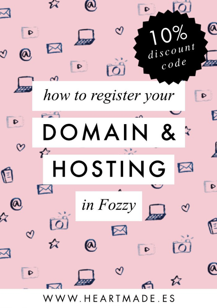In this video tutorial I'm teaching you how to register your new website domain & hosting in Fozzy.
