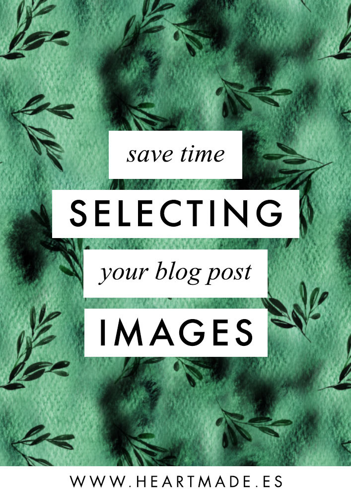 save time selecting your blog post images with this easy tips