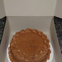 Chocolate Round Cake - Donna's Sweets