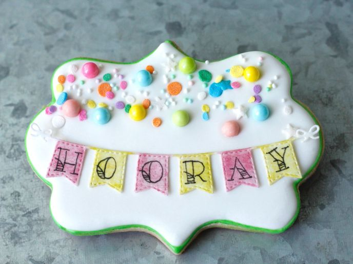 hooray - HOB Edible Images