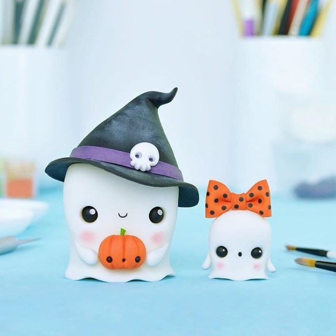 ghosts clay - Fondant Character Ideas