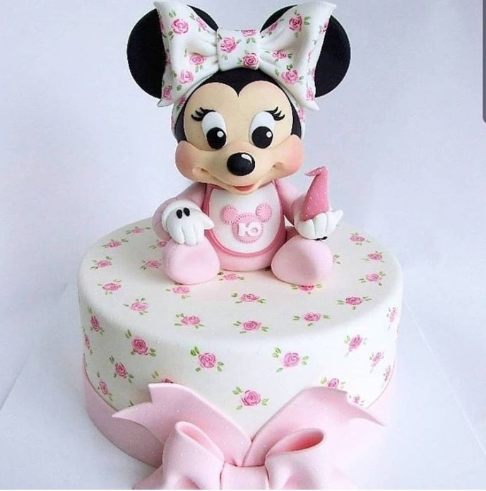 minnie mouse - Fondant Character Ideas