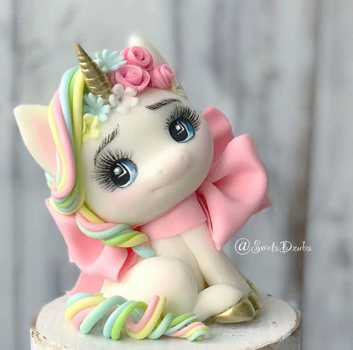 unicorn3 clay - Fondant Character Ideas