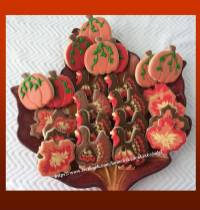 Thanksgiving Cookies 2018 - Home Baked Cakes by Judy