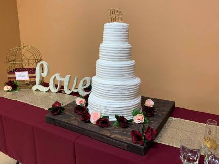Wedding cake Simplefied 2019 - Home Baked Cakes by Judy