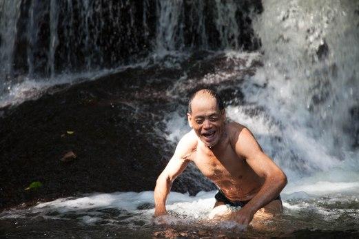 Philius Swimming