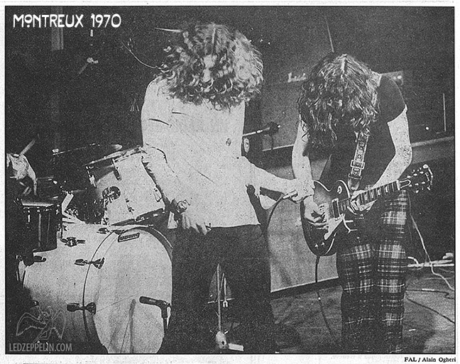 led zeppelin montreux 1970 robert plant jimmy page