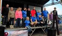 Notre équipe de bénévoles lors des Cahottes en Fête