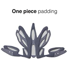 one piece padding heartshelmet