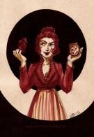 Queen of Hearts - Inktober 2015