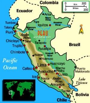 Maps of Q\'ero - Heart Walk Foundation