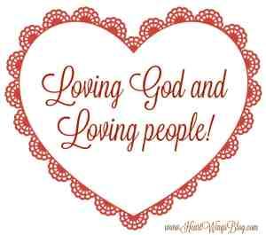 Loving God and Loving People