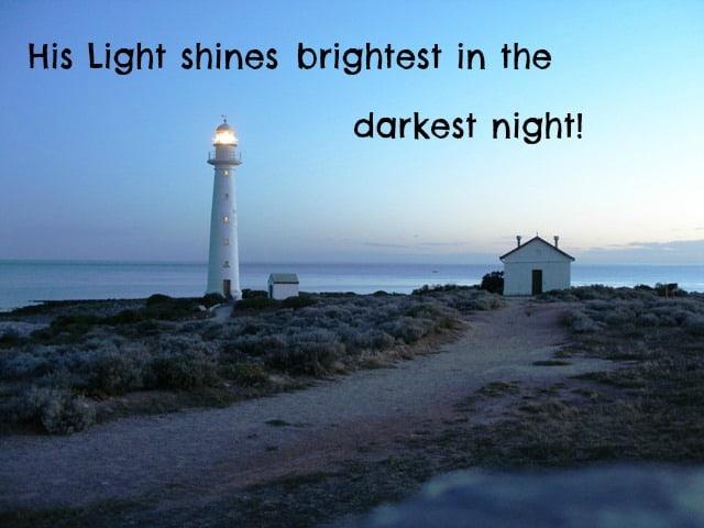 When the Night is Dark