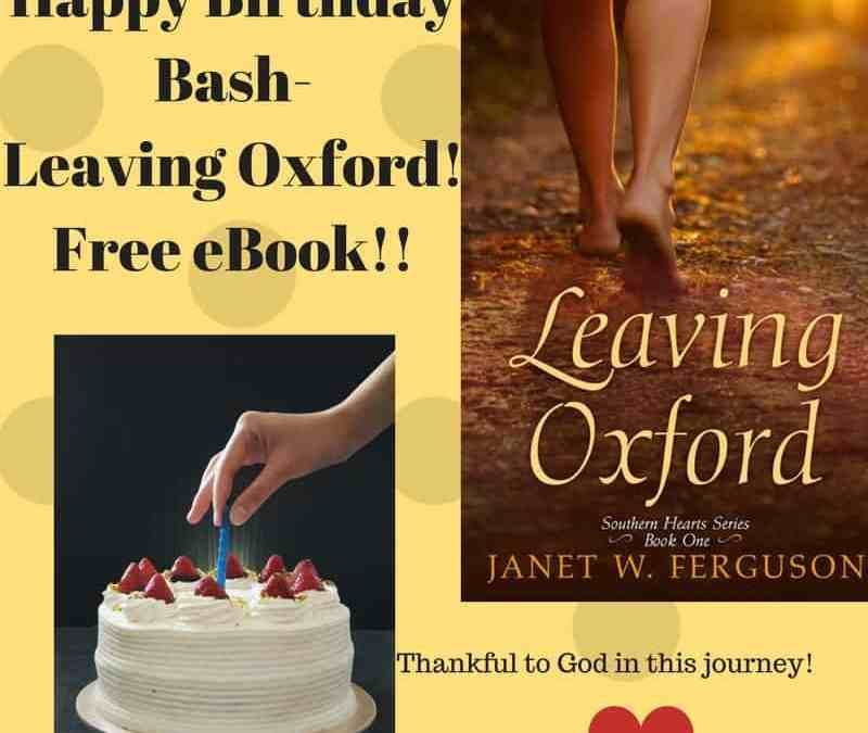 Leaving Oxford One-Year Birthday! #Free on Kindle
