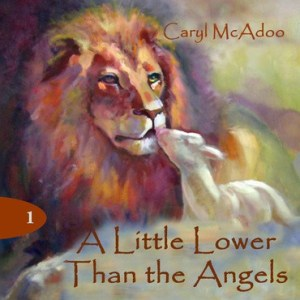 A Little Lower than the Angels, volume one in The Generations Biblical fiction series; artwork by Judy Levine l
