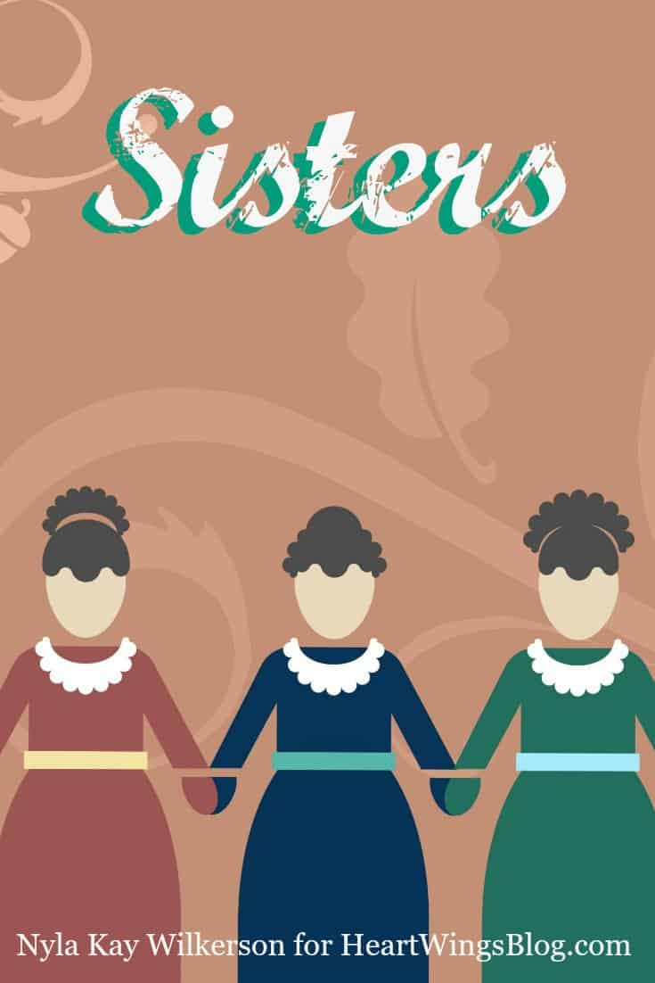 "Nyla Kay Wilkerson discusses the importance of sisters through tough times at Heart""wings"" Blog"