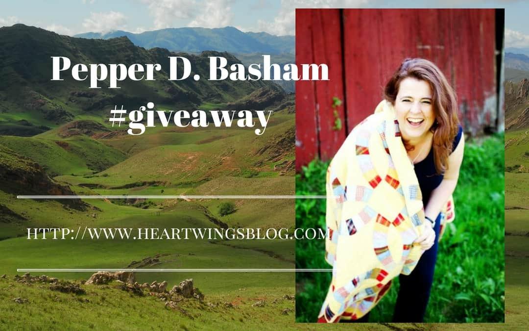 Pepper Basham #Giveaway!