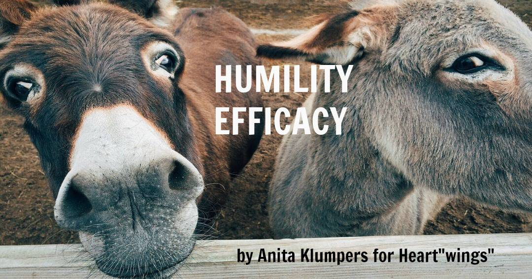 "Humility Efficacy, or ""I blew it again?"""