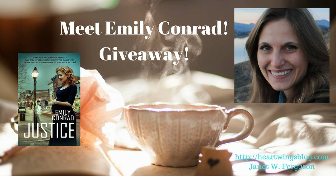 Meet Emily Conrad! Giveaway!