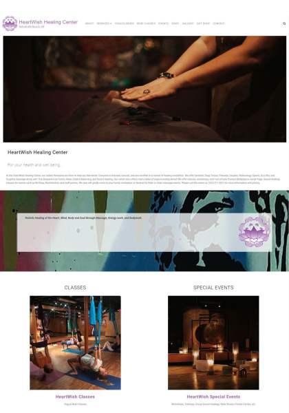 New Website - HeartWish Healing Center