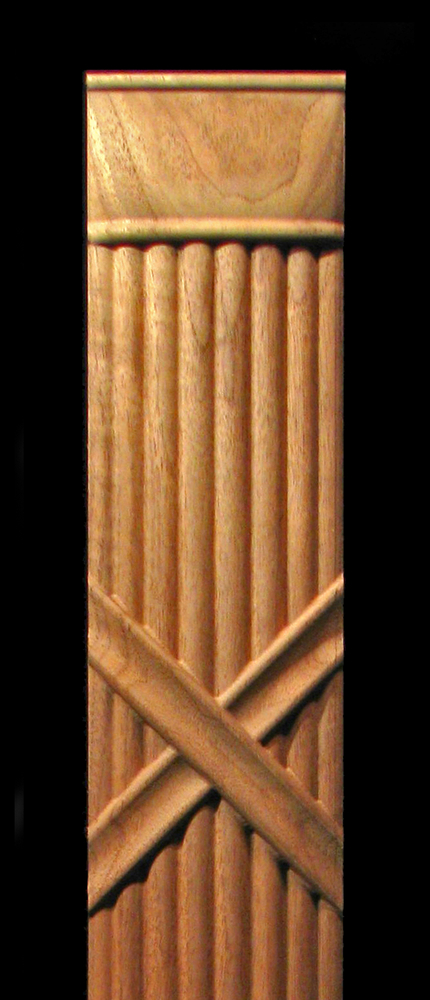 Decorative Half Round Columns