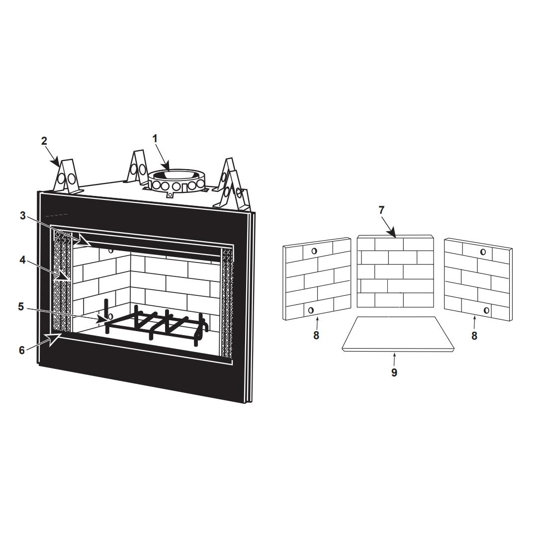 Heat Amp Glo Rhw 41 Royal Hearth 36 Woodburning Fireplace