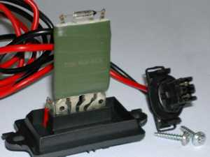 Fix Your Renault Scenic 2 Heater Blower Resistor Problem
