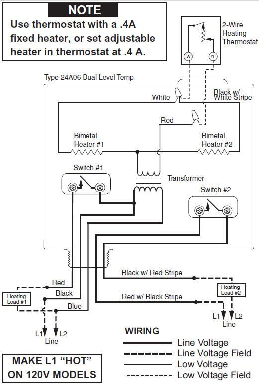 wards thermostat wiring diagram  air temp heat pump