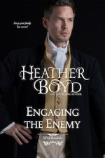 Engaging the Enemy regency romance book cover image
