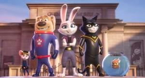 Animated Adventurers StarDog, Cassidy and TurboCat and the gang.