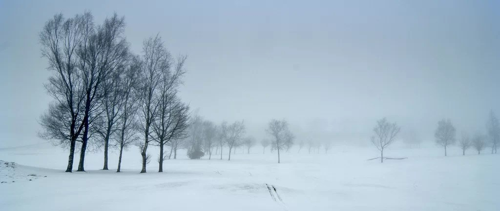 Golf Course In The Fog Simon Harrod Flickr