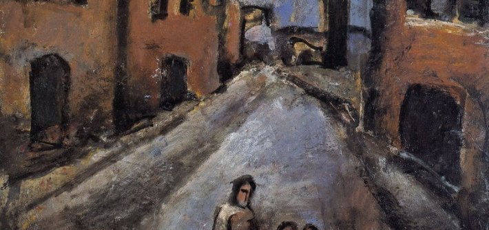 CHRIST IN THE OUTSKIRTS GEORGES ROUAULT, c. 1920
