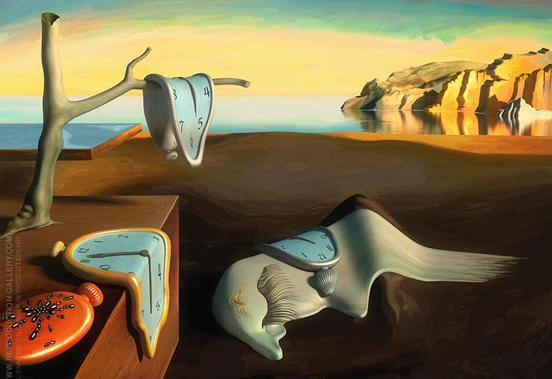 SALVADOR DALI THE PERSISTENCE OF MEMORY, 1931