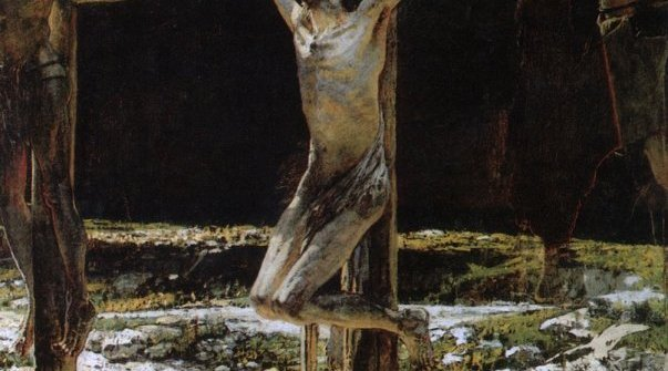 NIKOLAI GE THE CRUCIFIXION, OR GOLGOTHA, 1893