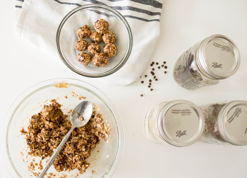 An Easy (and Healthy!) Recipe: Almond Butter Energy Bites