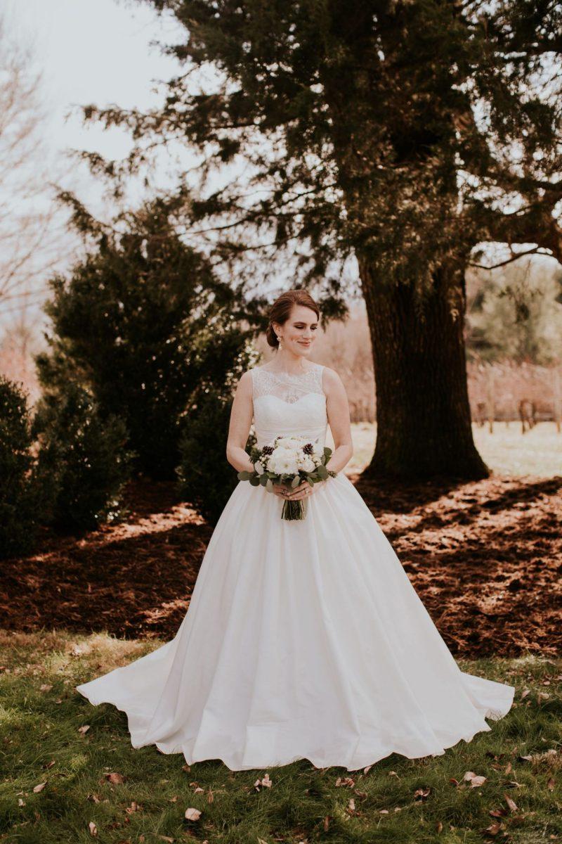 All About THE Dress: My Ballgown Winter Wedding Dress