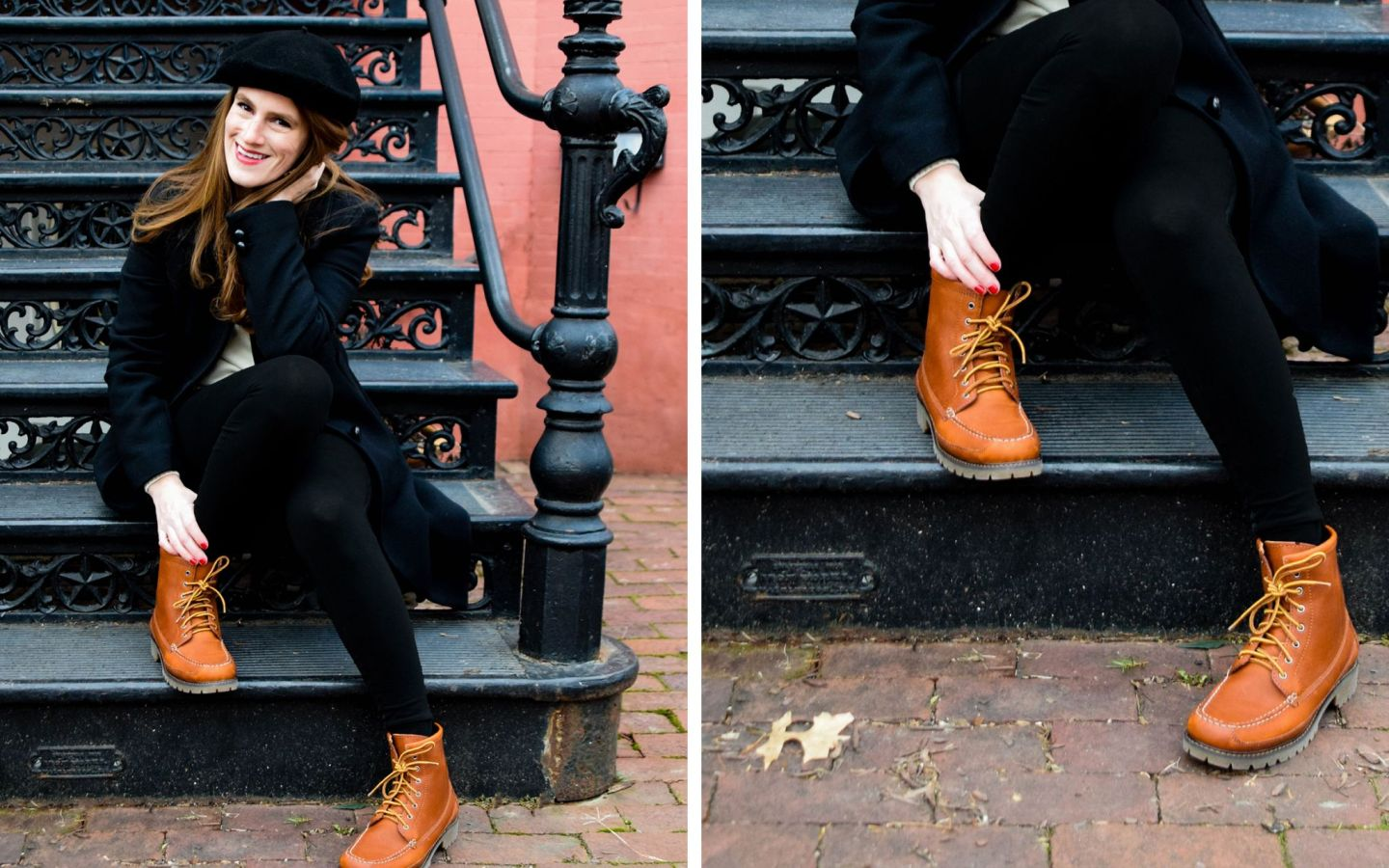 french girl style - eastland charlie boot