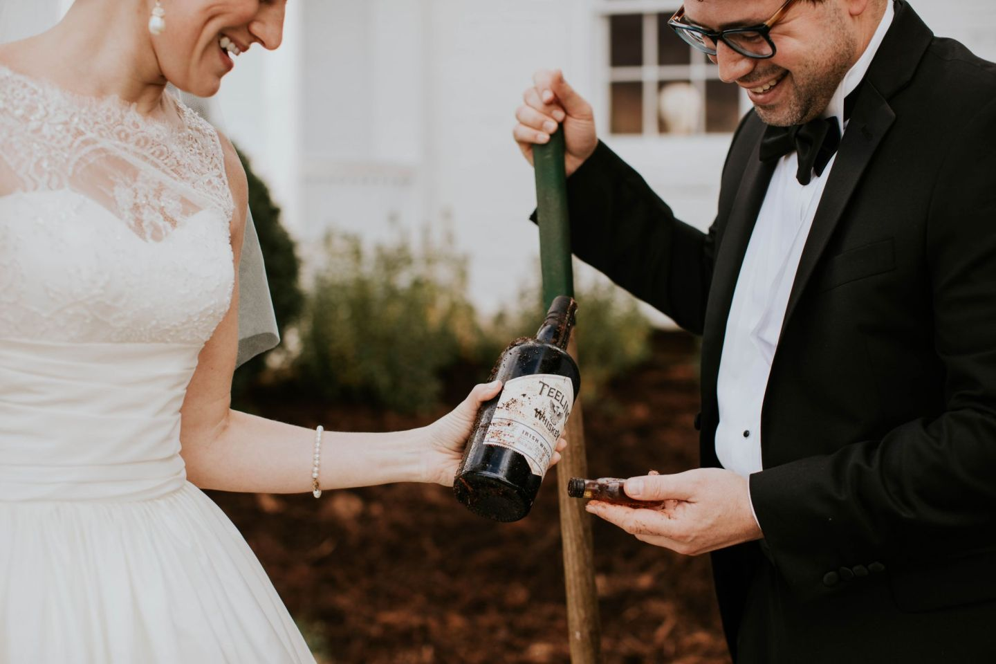 burying the bourbon - southern wedding traditions - farmhouse at veritas wedding