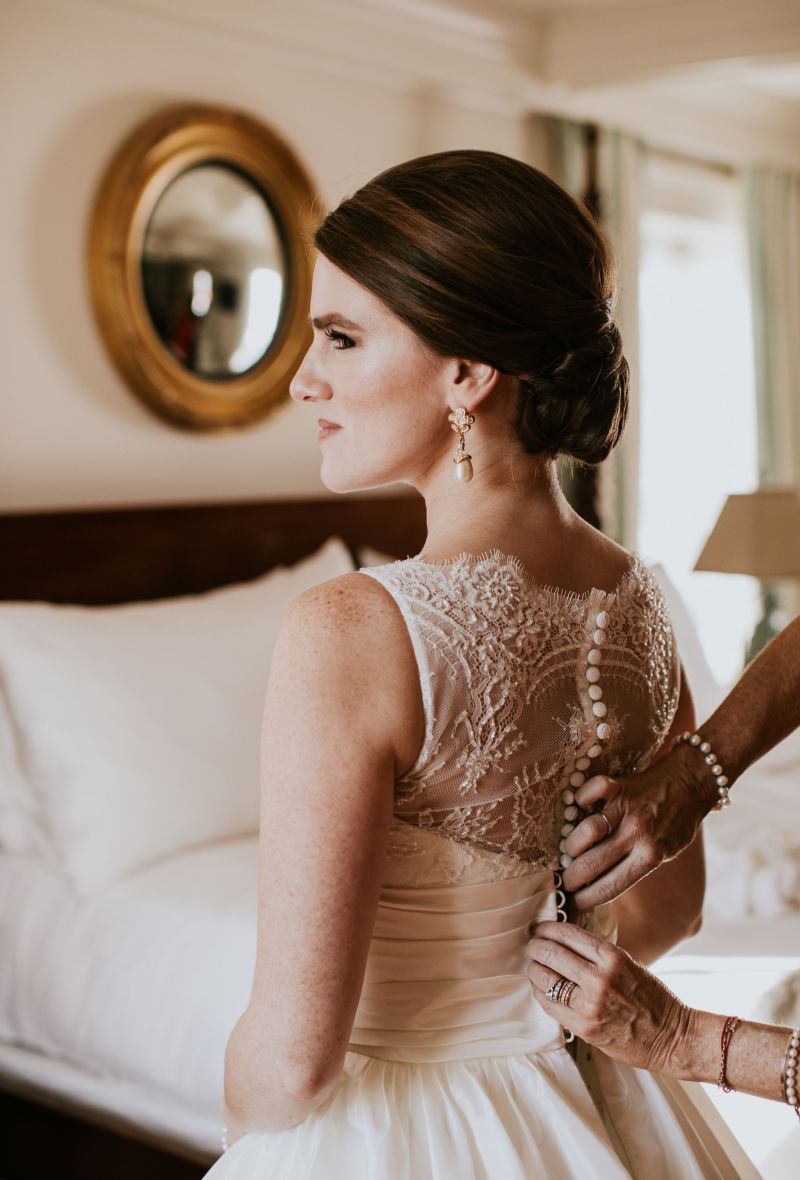 All the Bridal Details: My Wedding Day Look