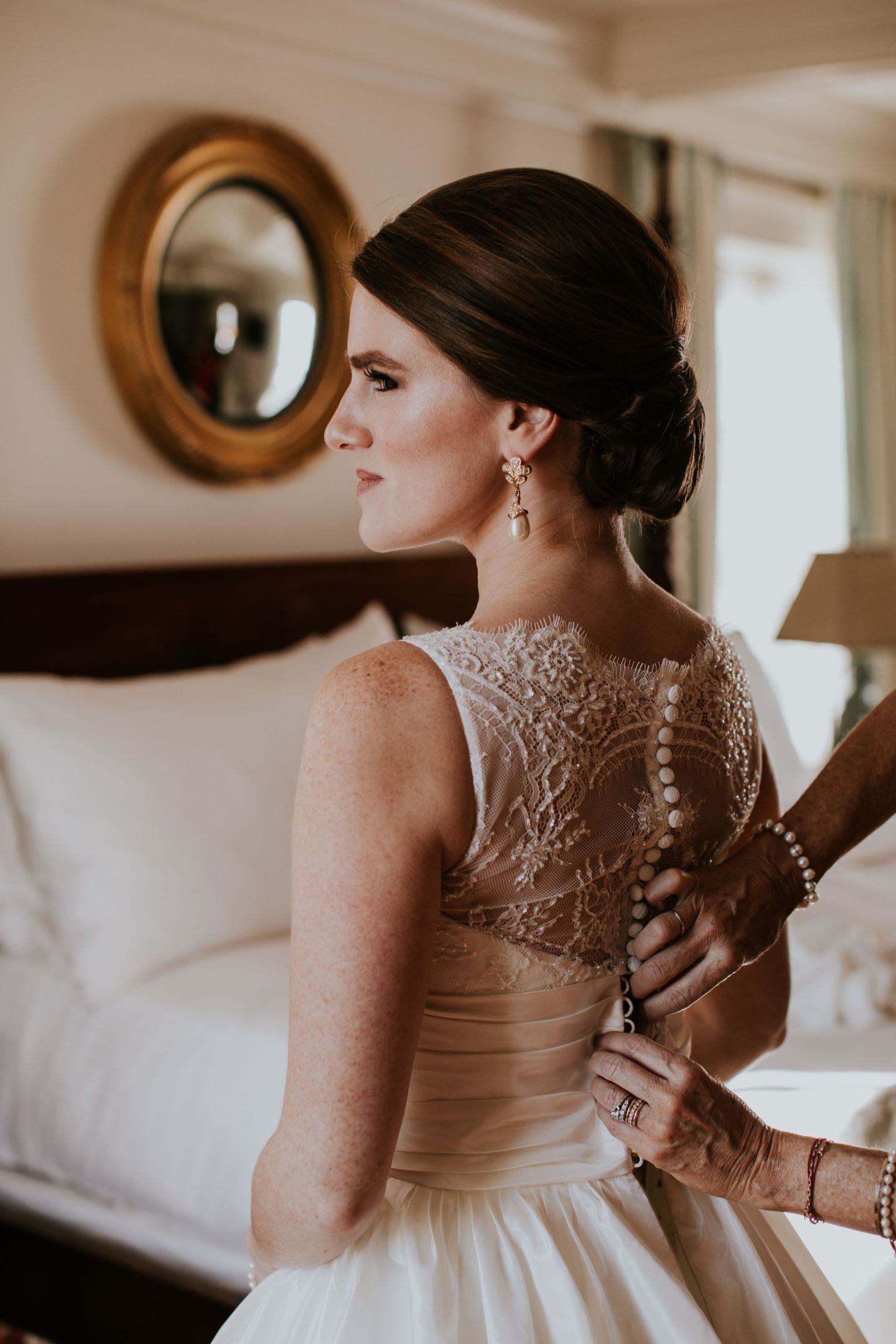 charlottesville bride - charlottesville wedding - augusta jones wedding dress - augusta jones paz - winter bride