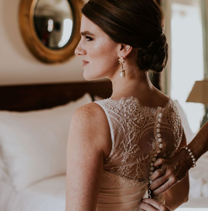 All the Bridal Details: A Winter Bride Wedding Day Look