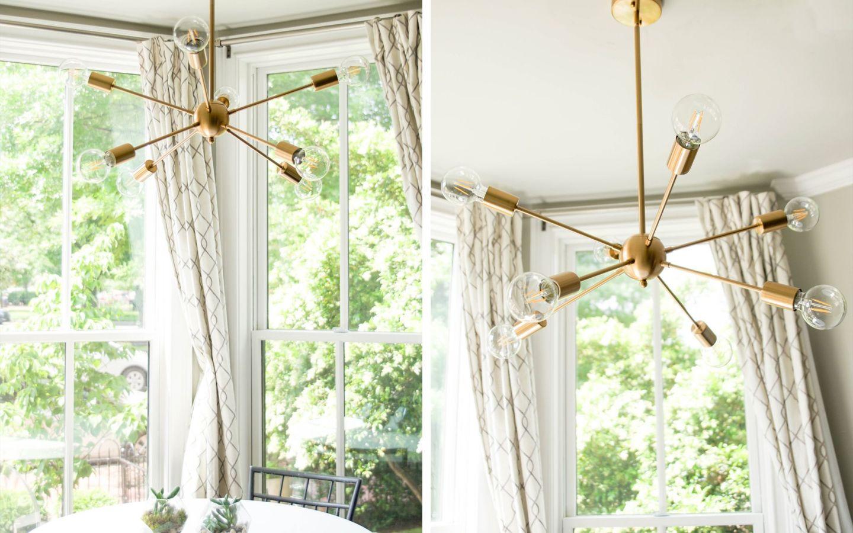amazon sputnik chandelier - gold sputnik chandelier - modern capitol hill home