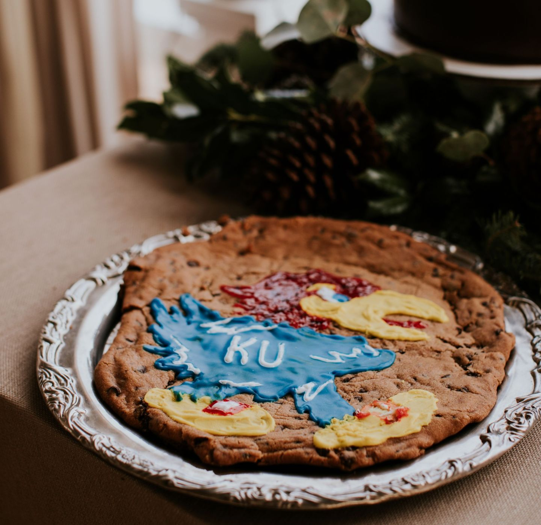 kansas jayhawk groom's cake - KU groom's cake