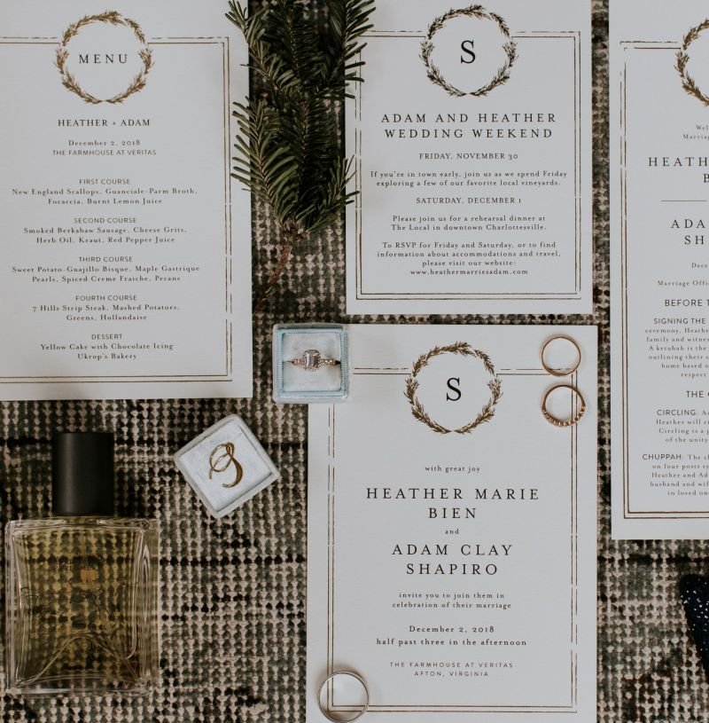 Why I Loved Using Minted Wedding for All Our Wedding Paper Goods
